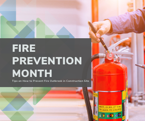 Fire Prevention Tips in Construction Sites